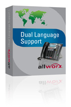 Allworx Dual Language Support